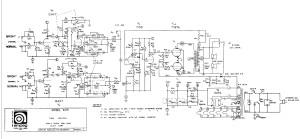 Ampeg B-25 schematic