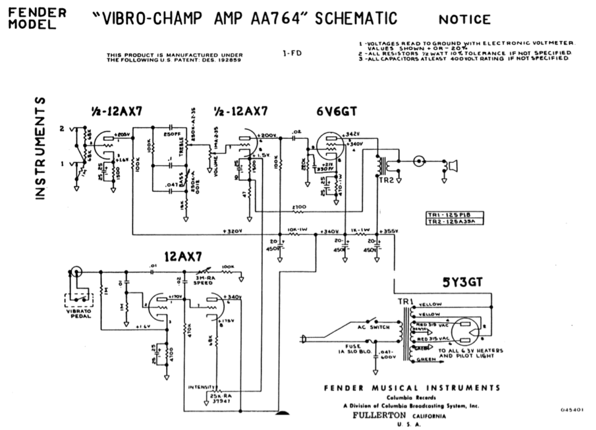 Fender champ wiring diagrams wiring diagram manual fender vibro champ amp aa764 iration audio fender champ wiring diagram fender vibro champ wiring diagram cheapraybanclubmaster Gallery