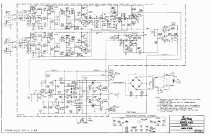 Kustom K100-1 Schematic