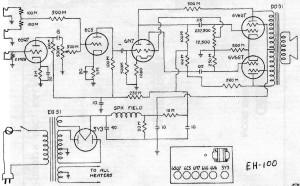 Gibson EH-100 schematic