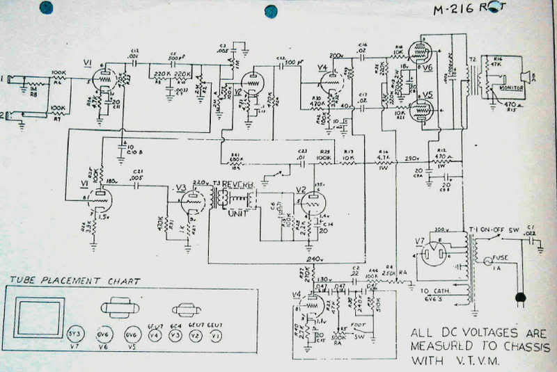 gibson falcon schematic wiring diagram Gibson Falcon Schematic