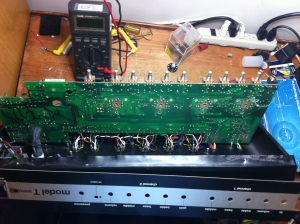 One huge single PCB what a hassle