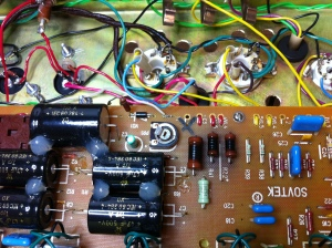 6L6 typically has 470 ohm screen grid resistor and EL34 uses 1.5K. 470 ohm screen grid resistors as well as a power supply dropping resistor are toasty. Also a 6L6 has no connection on pin 1. The suppressor grid is internally tied to ground via pin 8, the cathode. On an EL34 the suppressor grid is tied to pin 1 and since the suppressor grid must be grounded it must be physically wired to ground on the tube socket by tying pin 1 to pin 8.
