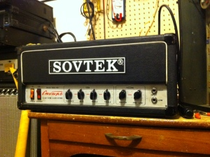 Cool Sovtek. Sounds gnarly. Wish I got to play it cranked.