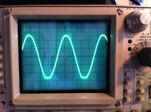 Unfortunately it could not make a good sine wave