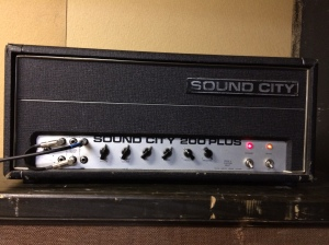 Behemoth Sound City 200+. Huge power section with four KT-88s was doing about 210W at clipping as per my measurement.