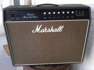 Marshall Master Lead Combo 2x12 from 1978. Solid state combo.