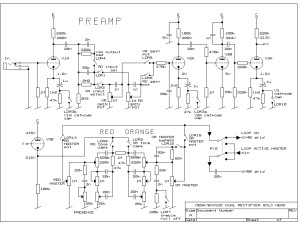 Mesa Boogie Dual Rectifier Solo Head preamp