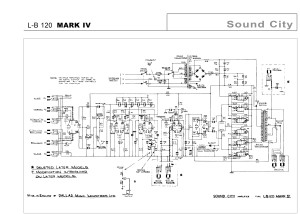 Sound City 120 Mark IV schematic