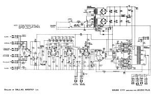 Sound City LB 200 Plus schematic