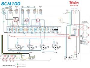 Weber 8CM100 Layout.a Weber 8CM100 schematic -- http://www.tedweber.com/media/kits/8cm100_schem.jpg