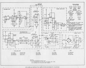 Gibson G10, G20, G30 schematic