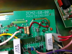 PCB cleaned and de-carbonized and hardwired Here is all the service info for the Marshall JCM2000 DSL100  -- https://drive.google.com/folderview?id=0B01EXvY0__YYfkc2aEdUMUtXbjlZLVRzYkIwR2l5cGhrTUhvVktCZGJiRWJ1aUZ1Z3l2UjA&usp=sharing