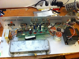 Power amp is identical to Sunn Concert Lead and Concert Bass amps. Reference their schematics
