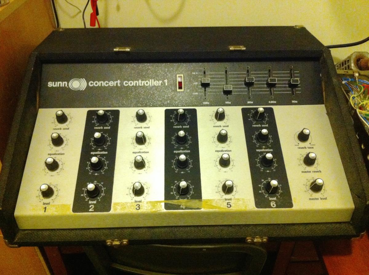 Sunn Concert Controller