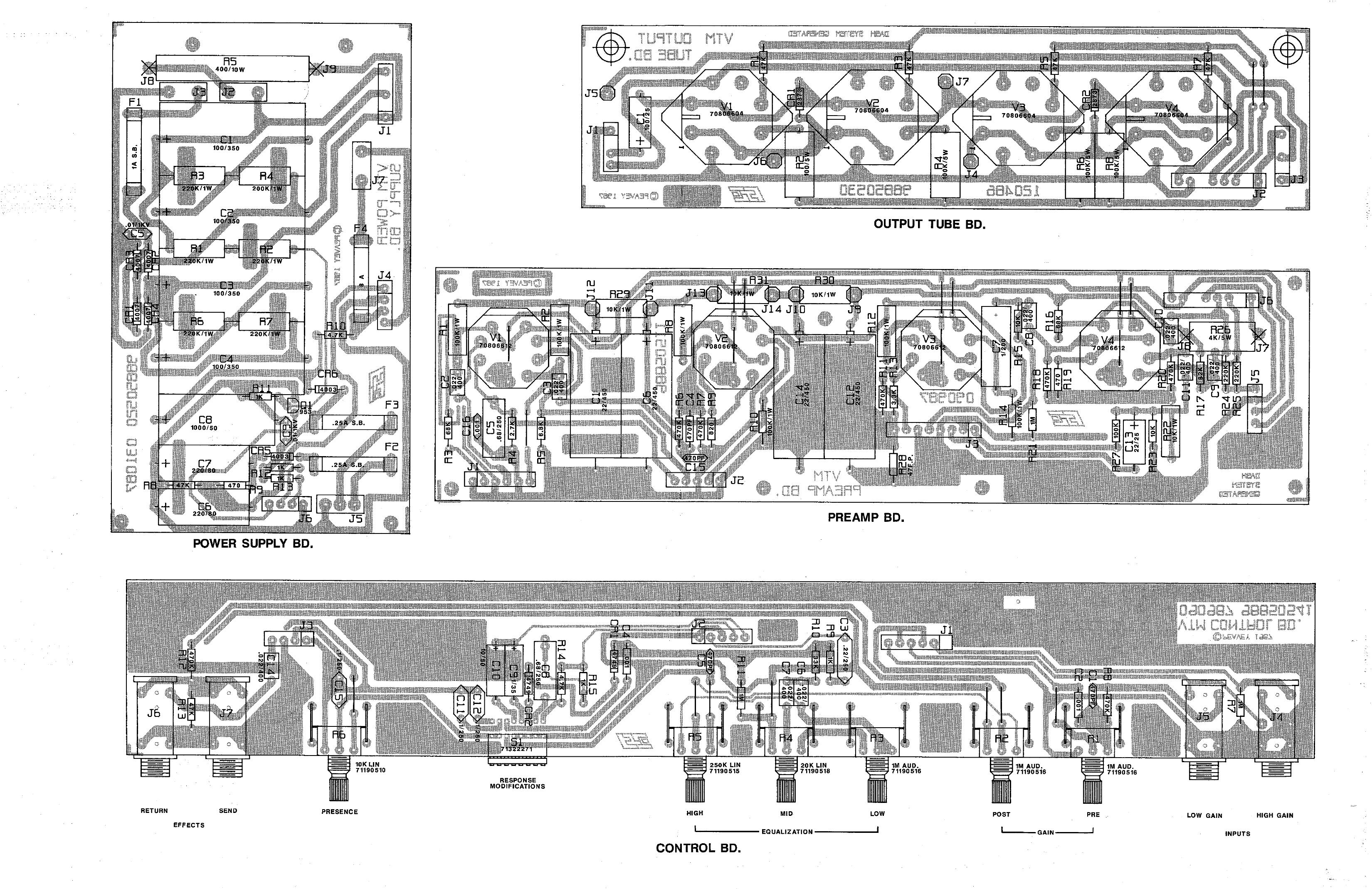 schematic peavey 6505 head  schematic  get free image