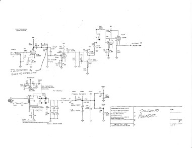 Soldano Avenger power supply output section-1
