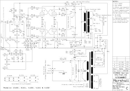 JCM900 4100, 2100 power supply