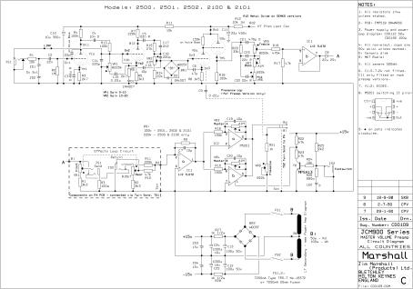 Marshall JCM900 2100 preamp