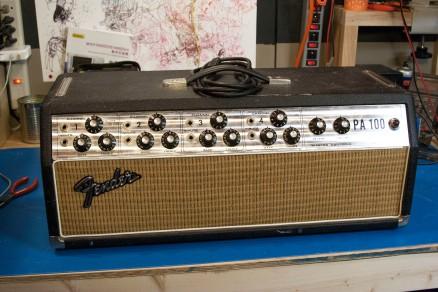 Fender PA100 head