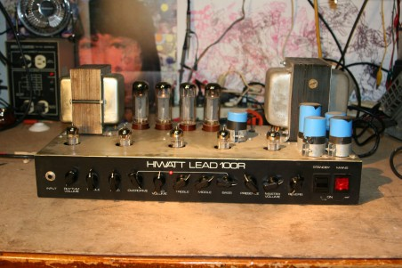 Hiwatt L100R frong