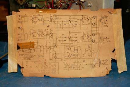 magnatone-480-schematic